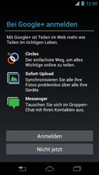Motorola XT890 RAZR i - Apps - Konto anlegen und einrichten - Schritt 14
