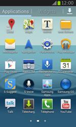 Samsung S7710 Galaxy Xcover 2 - Messagerie vocale - Configuration manuelle - Étape 3