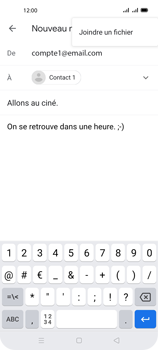 Oppo A72 - E-mails - Envoyer un e-mail - Étape 10