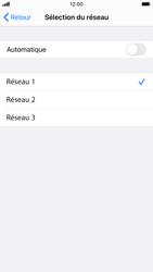 Apple iPhone 6s - iOS 14 - Réseau - Sélection manuelle du réseau - Étape 8