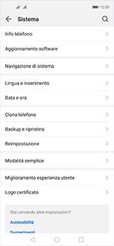 Huawei Nova 5T - Operazioni iniziali - Come aggiungere una lingua alla tastiera - Fase 4