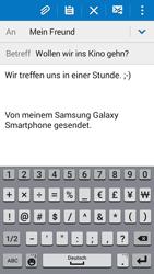 Samsung G530FZ Galaxy Grand Prime - E-Mail - E-Mail versenden - Schritt 10
