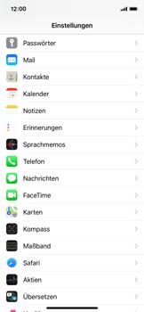Apple iPhone X - iOS 14 - E-Mail - Manuelle Konfiguration - Schritt 3