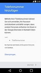 LG X Power - Apps - Konto anlegen und einrichten - Schritt 13