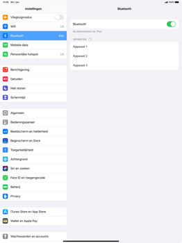 Apple iPad Pro 12.9 inch 4th generation (2020) (Model A2232) - Bluetooth - Aanzetten - Stap 4