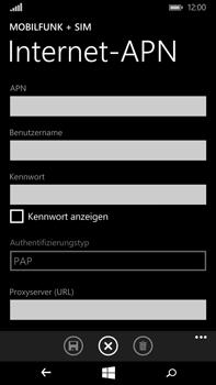 Microsoft Lumia 640 XL - Internet - Manuelle Konfiguration - Schritt 12