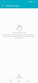 Huawei Honor Play - Anrufe - Anrufe blockieren - Schritt 7