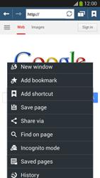 Samsung C105 Galaxy S IV Zoom LTE - Internet - Internet browsing - Step 6