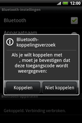 HTC A510e Wildfire S - Bluetooth - koppelen met ander apparaat - Stap 10
