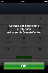 Apple iPhone 4S - SMS - Manuelle Konfiguration - Schritt 5