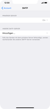 Apple iPhone XR - E-Mail - Konto einrichten - 22 / 30