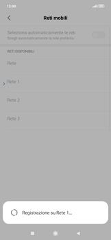 Xiaomi RedMi Note 7 - Rete - Selezione manuale della rete - Fase 12