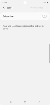 Samsung Galaxy Note10 - Wifi - configuration manuelle - Étape 5