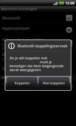 HTC A9191 Desire HD - Bluetooth - koppelen met ander apparaat - Stap 10