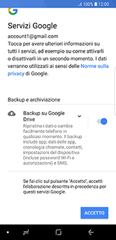 Samsung Galaxy S8 - Android Oreo - E-mail - 032a. Email wizard - Gmail - Fase 11