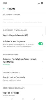 Oppo Find X2 Lite - Sécuriser votre mobile - Personnaliser le code PIN de votre carte SIM - Étape 5