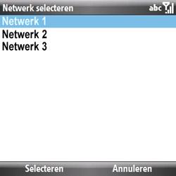 Samsung B7330 Omnia Pro - netwerk en bereik - gebruik in binnen- en buitenland - stap 9