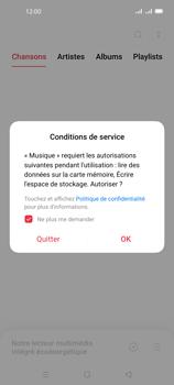 Oppo A72 - Photos, vidéos, musique - Ecouter de la musique - Étape 4