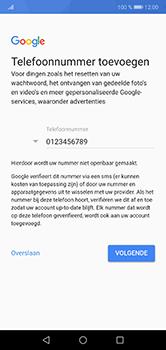 Huawei P20 lite - apps - account instellen - stap 13