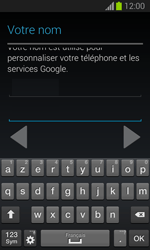 Samsung S7390 Galaxy Trend Lite - Applications - Créer un compte - Étape 7