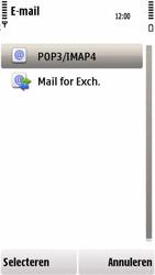 Nokia 5230 - e-mail - handmatig instellen - stap 11