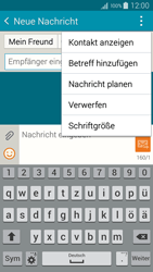 Samsung A300FU Galaxy A3 - MMS - Erstellen und senden - Schritt 13