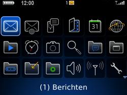 BlackBerry 9700 Bold - Instellingen - ontvangen via SMS - Stap 8