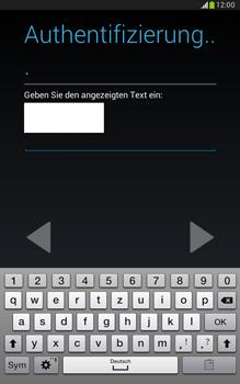 Samsung N5100 Galaxy Note 8-0 - Apps - Konto anlegen und einrichten - Schritt 20