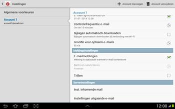 Samsung P7500 Galaxy Tab 10-1 - E-mail - Instellingen KPNMail controleren - Stap 20