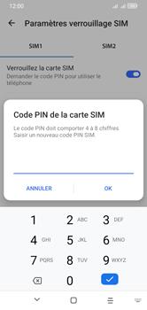 Alcatel 1S (2020) - Sécuriser votre mobile - Personnaliser le code PIN de votre carte SIM - Étape 11