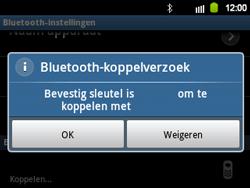 Samsung B5510 Galaxy TXT - bluetooth - headset, carkit verbinding - stap 9