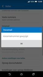 HTC One A9 - Voicemail - handmatig instellen - Stap 8