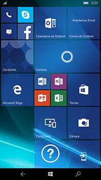Microsoft Lumia 950 XL - Primeros pasos - Quitar y colocar la batería - Paso 1