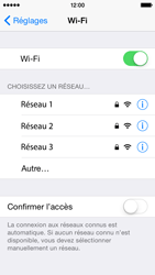 Apple iPhone 5s - iOS 8 - WiFi - Configuration du WiFi - Étape 7
