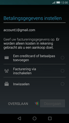 Huawei Ascend G7 - apps - account instellen - stap 18