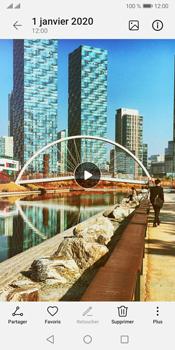 Huawei Y5P - Photos, vidéos, musique - Créer une vidéo - Étape 15