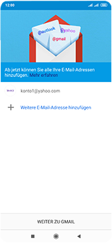 Xiaomi Mi Mix 3 5G - E-Mail - 032b. Email wizard - Yahoo - Schritt 14