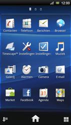 Sony Xperia Ray - MMS - Afbeeldingen verzenden - Stap 2