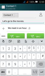 Huawei Y3 - MMS - Sending pictures - Step 10