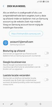 Samsung Galaxy Note 8 - Beveiliging en privacy - zoek mijn mobiel activeren - Stap 6
