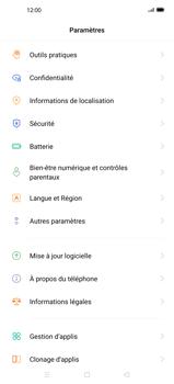 Oppo Find X2 Pro - Prise en main - Comment ajouter une langue de clavier - Étape 4