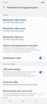 Samsung Galaxy Note20 - Photos, vidéos, musique - Créer une vidéo - Étape 8