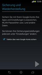 Sony Xperia V - Apps - Einrichten des App Stores - Schritt 24