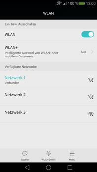 Huawei Mate S - WLAN - Manuelle Konfiguration - Schritt 7