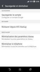 HTC Desire 530 - Aller plus loin - Restaurer les paramètres d'usines - Étape 5