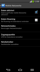 LG G Flex - Ausland - Im Ausland surfen – Datenroaming - 1 / 1