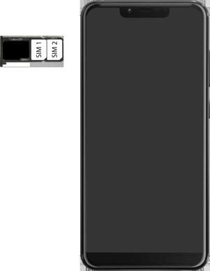 Wiko View 2 Plus - Toestel - simkaart plaatsen - Stap 6