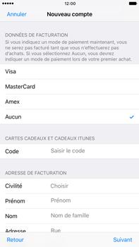 Apple Apple iPhone 6s Plus iOS 10 - Applications - Créer un compte - Étape 18