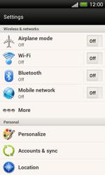 HTC One SV - WiFi - WiFi configuration - Step 4