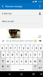 HTC One M9 - MMS - envoi d'images - Étape 16